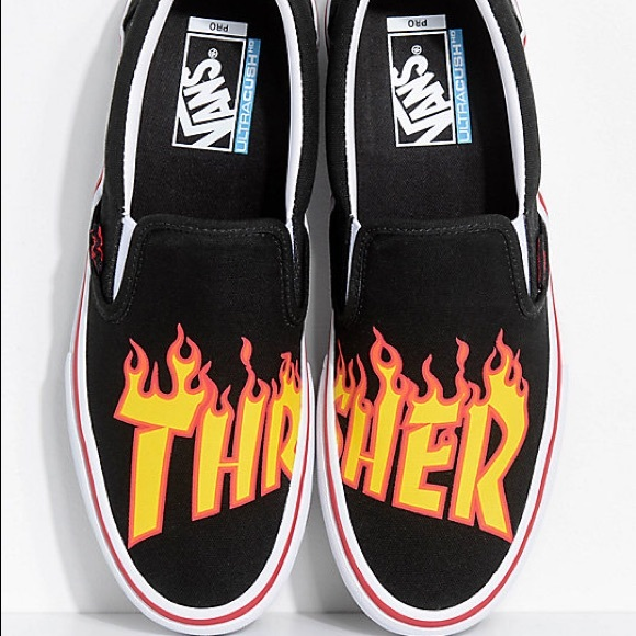a5f3b2191a09 Vans Shoes | Thrasher Slip Ons New 11 | Poshmark